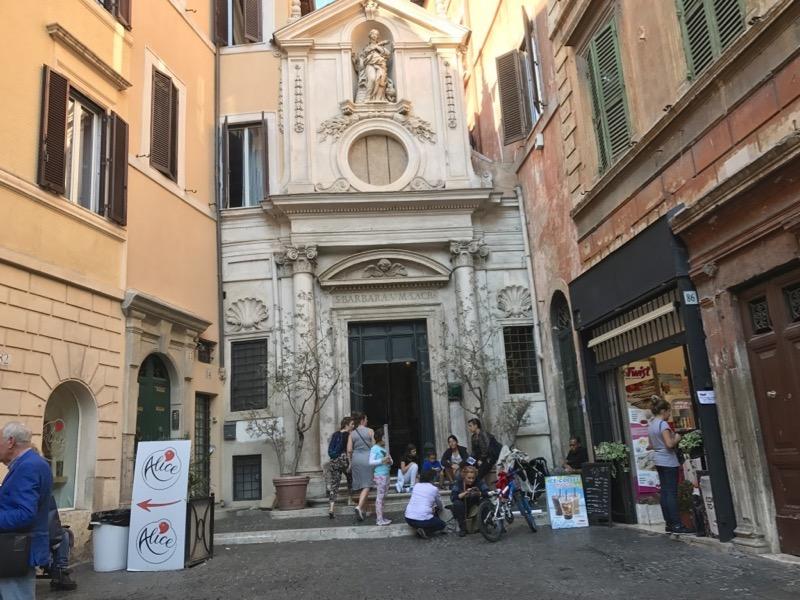 Chiesa Dei Stata Barbara Labrari