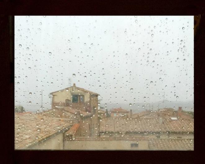 PIENZA IN THE RAIN 8x10