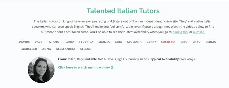 Lucrezia from Milano